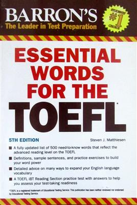 Essential Words For The TOFEL