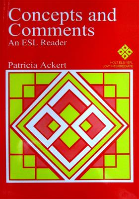 Concepts & Comments An ESL Reader